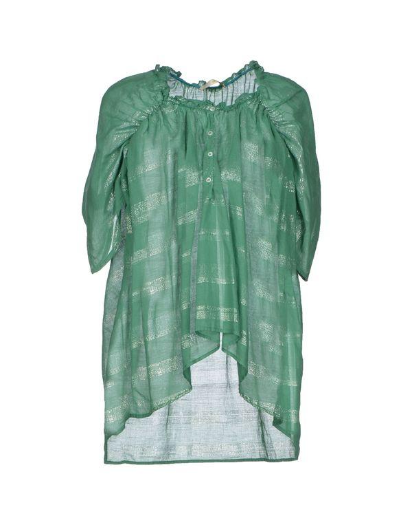 绿色 GOLD CASE SOGNO 女士衬衫