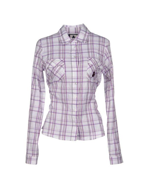 紫色 DUCK FARM Shirt