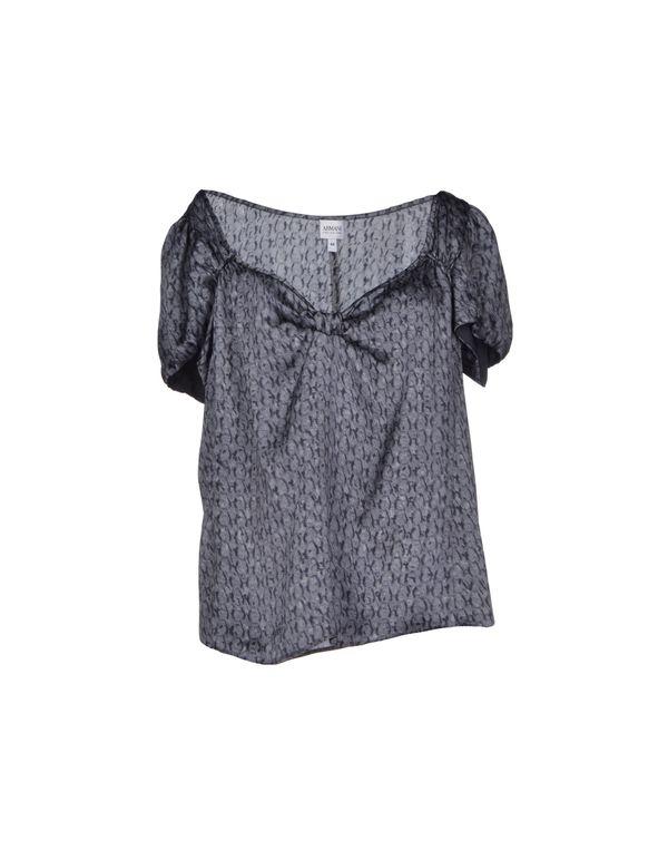 石青色 ARMANI COLLEZIONI 女士衬衫