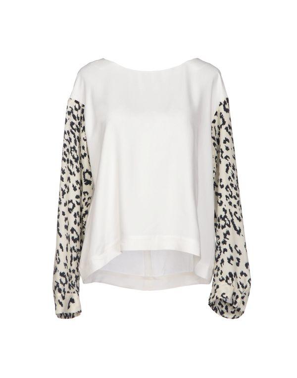 白色 VIRGINIE CASTAWAY 女士衬衫