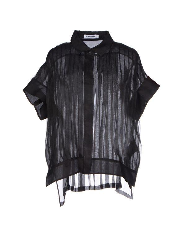 黑色 JIL SANDER Shirt