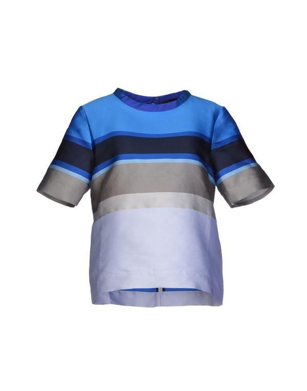蓝色 OSTWALD HELGASON 女士衬衫