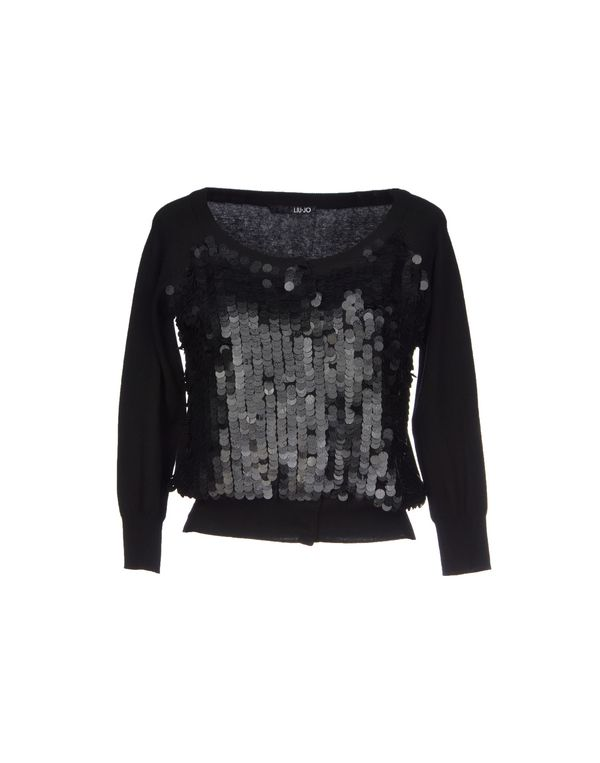黑色 LIU •JO 针织开衫