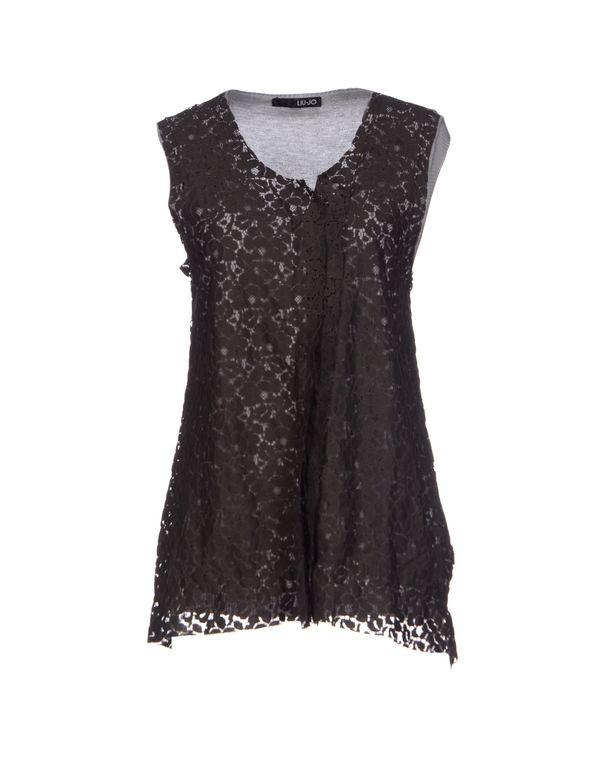 深棕色 LIU •JO 针织开衫