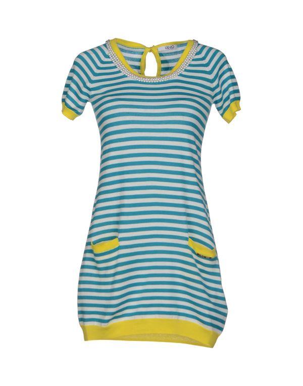 蓝绿色 LIU •JO JEANS 套衫