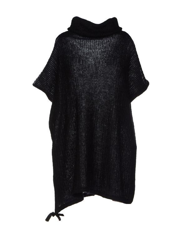 黑色 GOLD CASE 圆领针织衫