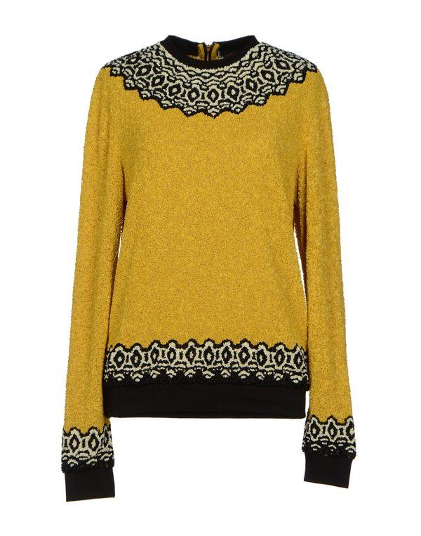 赭石色 MANISH ARORA 套衫
