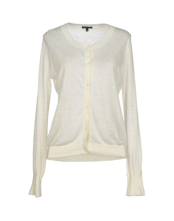 白色 THEORY 针织开衫