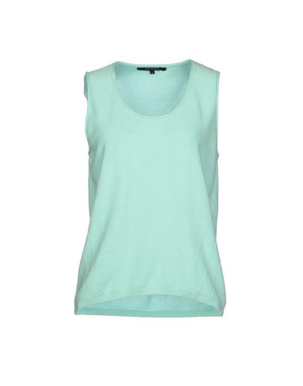 蓝绿色 TARA JARMON 套衫