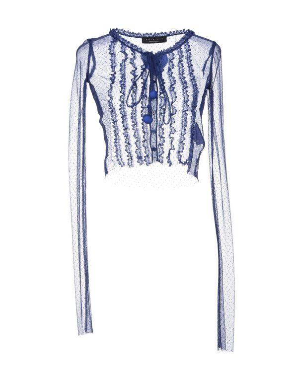 蓝色 TWIN-SET SIMONA BARBIERI 针织开衫