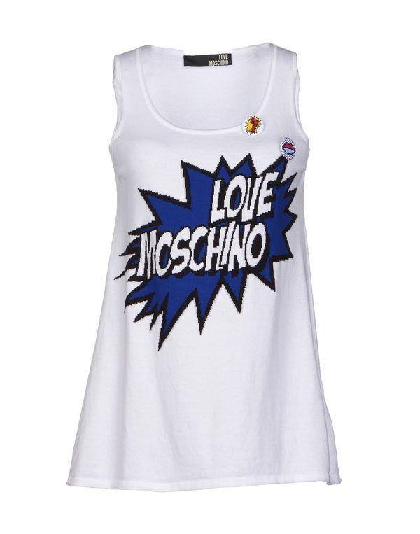 白色 LOVE MOSCHINO 上衣