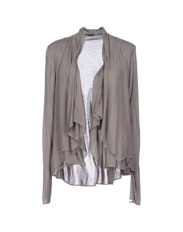 铅灰色 ELIE TAHARI 针织开衫