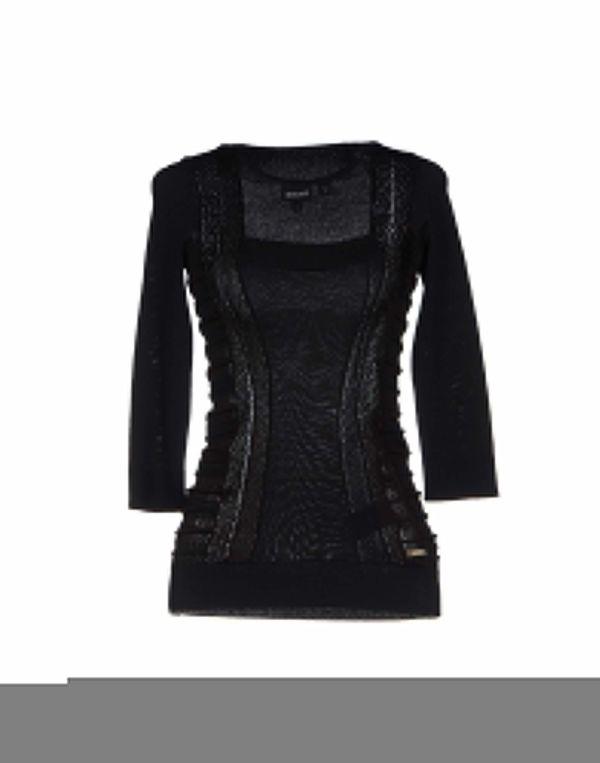 黑色 JUST CAVALLI 套衫