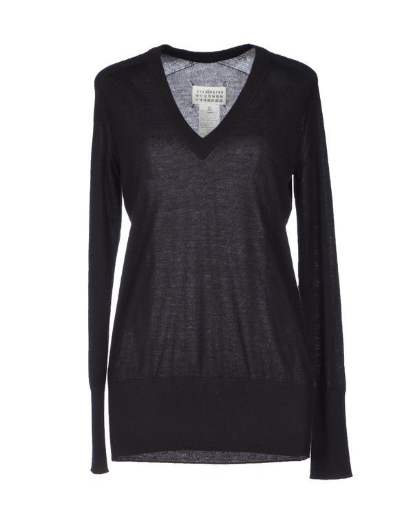 黑色 MAISON MARTIN MARGIELA 4 套衫