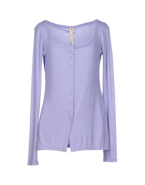 丁香紫 LE COEUR DE TWIN-SET SIMONA BARBIERI 针织开衫