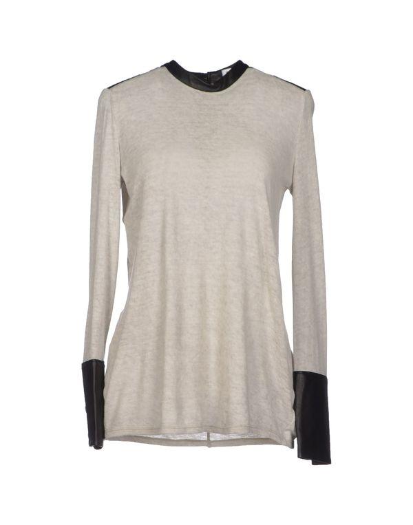 淡灰色 HELMUT LANG 套衫