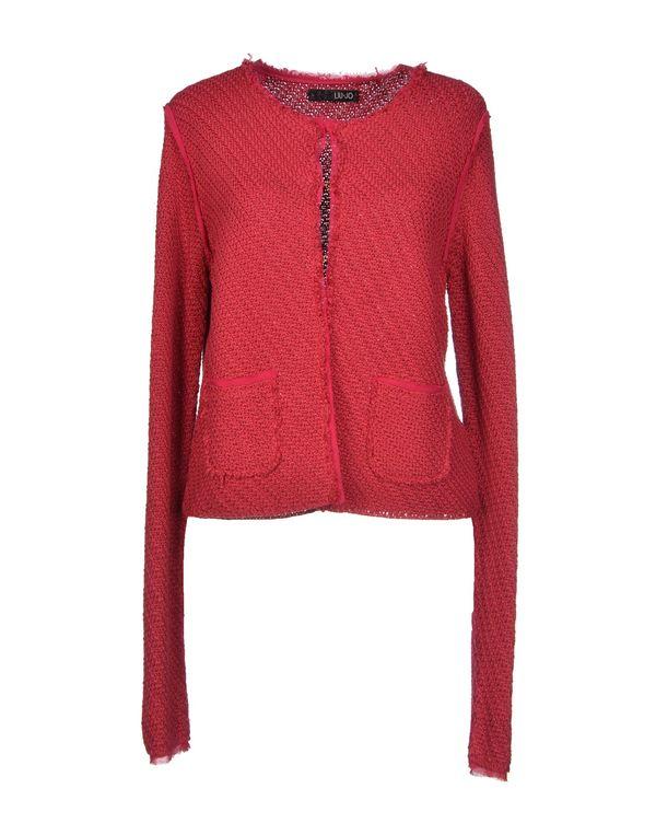 砖红 LIU •JO 针织开衫