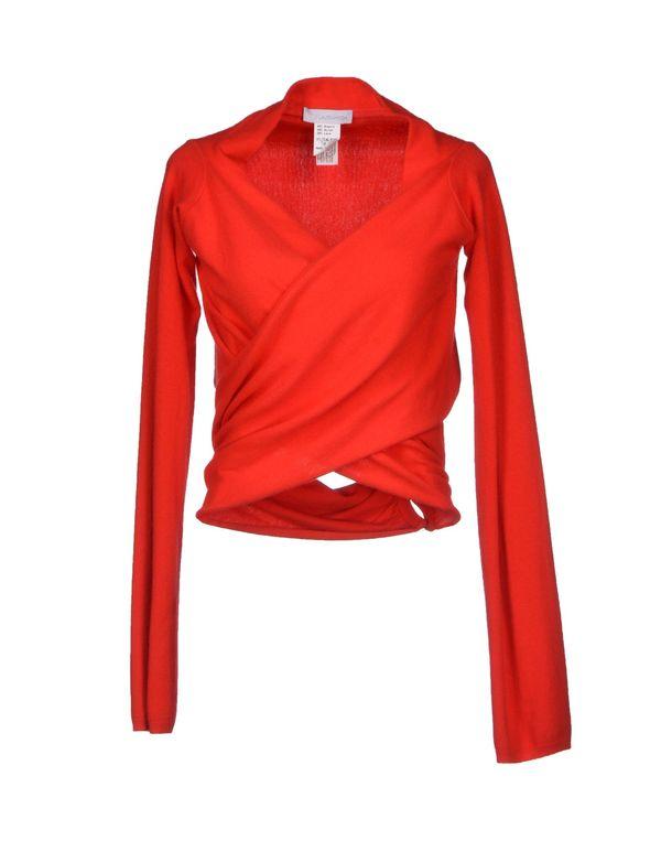 红色 LALTRAMODA 针织开衫
