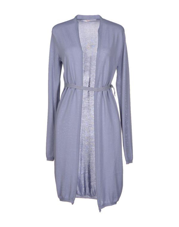 丁香紫 JUCCA 针织开衫