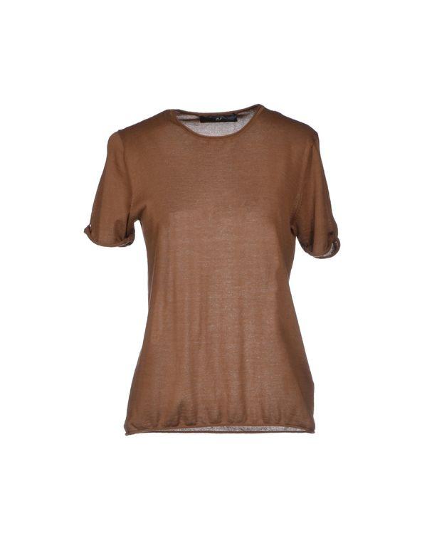 棕色 D.A. DANIELE ALESSANDRINI 套衫