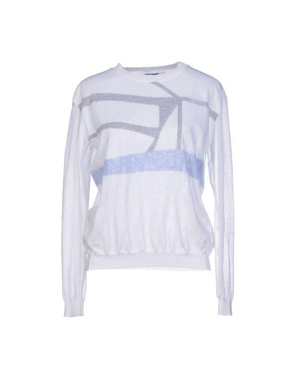 白色 JIL SANDER 套衫
