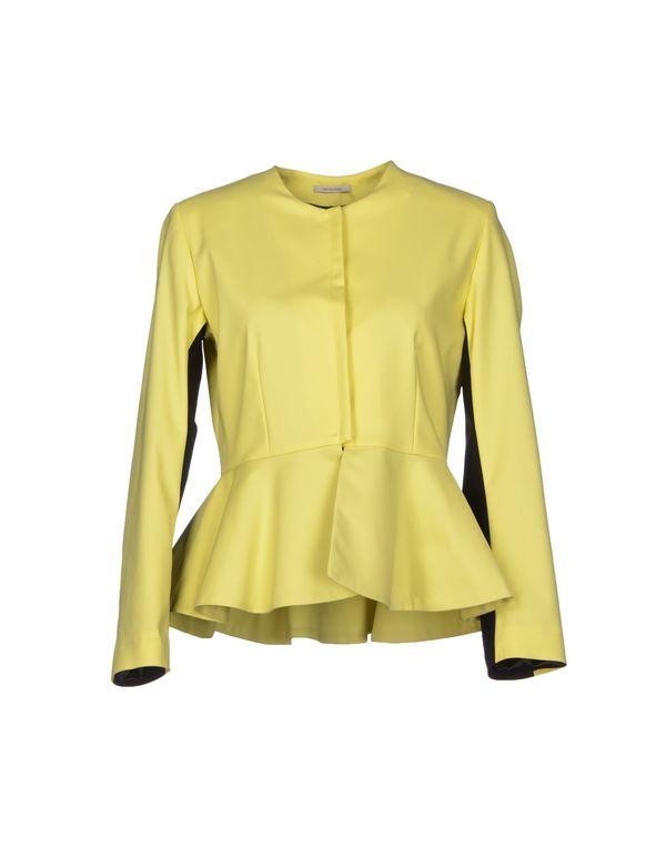 黄色 NOSHUA 西装上衣