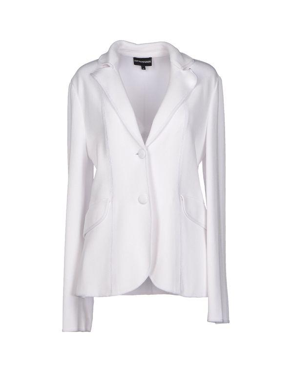 白色 EMPORIO ARMANI 西装上衣