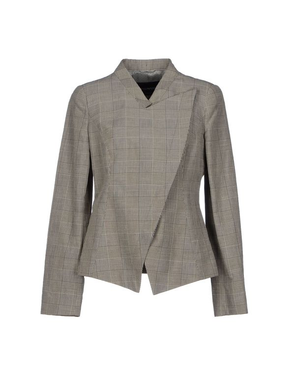 灰色 EMPORIO ARMANI 西装上衣