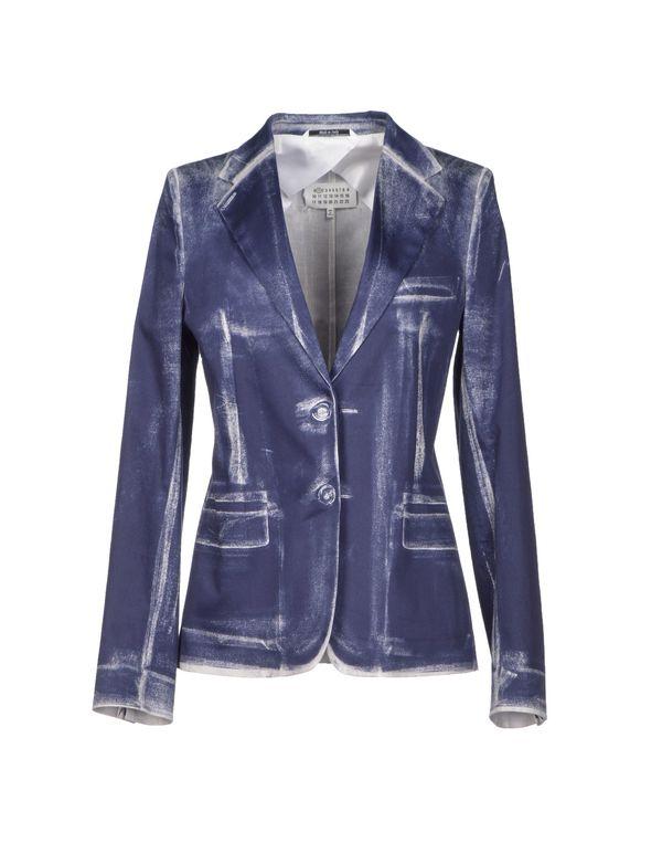 蓝色 MAISON MARTIN MARGIELA 1 西装上衣