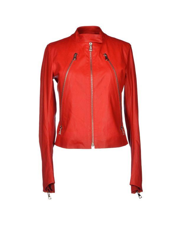 红色 MAISON MARTIN MARGIELA 4 夹克