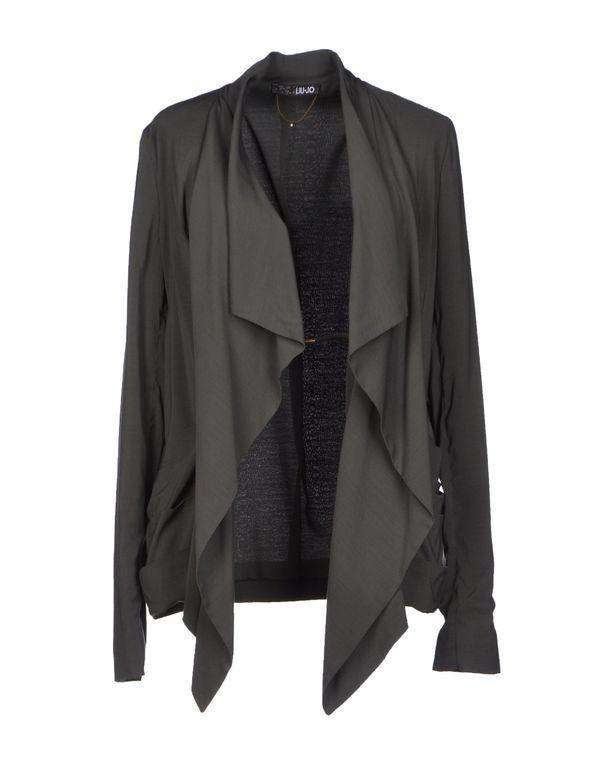 铅灰色 LIU •JO 西装上衣
