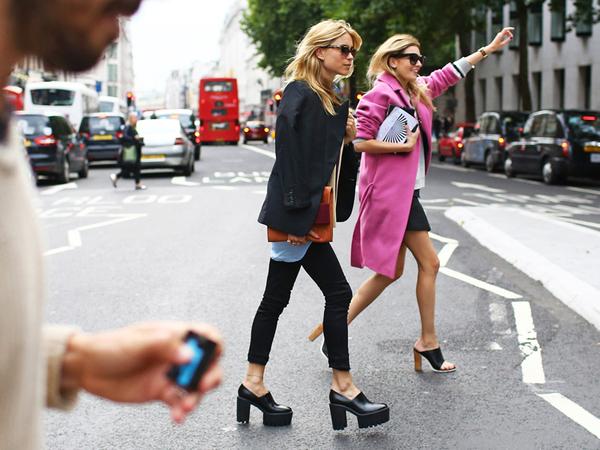 2014春夏伦敦时装周街拍