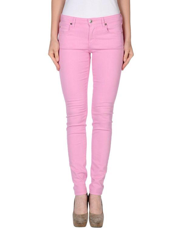粉红色 M.GRIFONI DENIM 牛仔裤