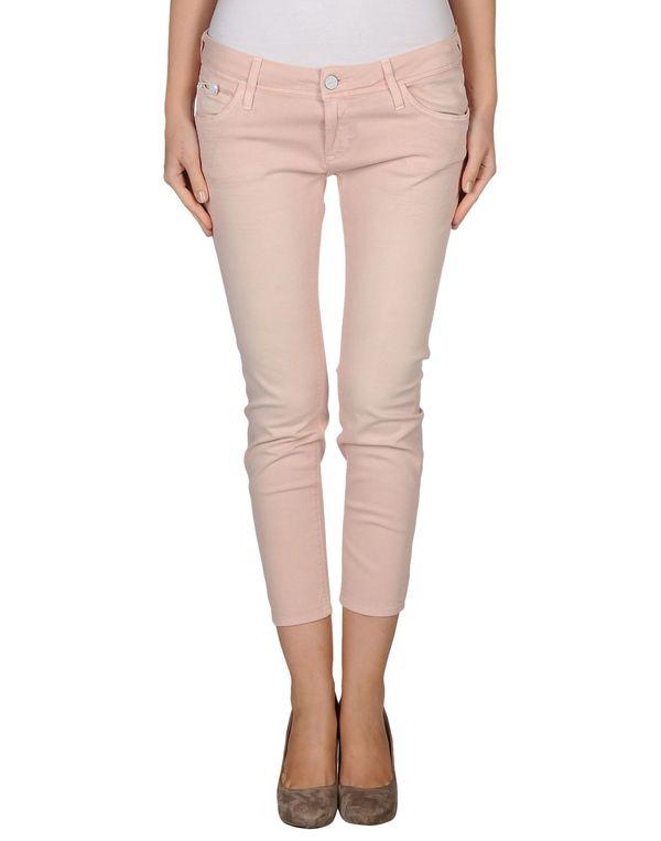 浅粉色 CALVIN KLEIN JEANS 牛仔裤