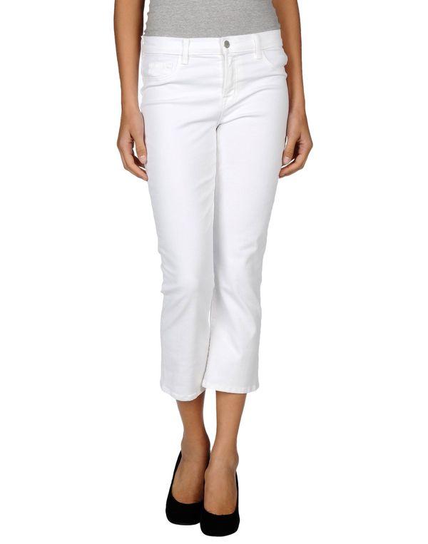 白色 J BRAND 牛仔七分裤