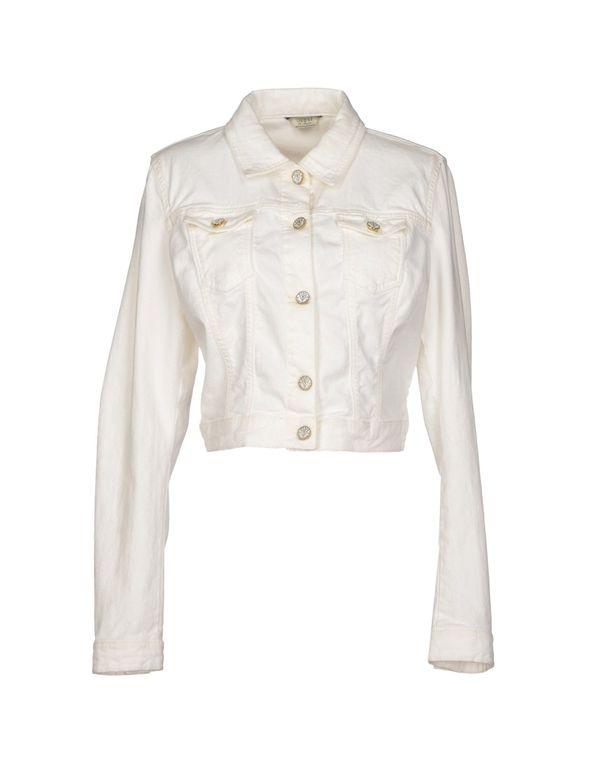 白色 GUESS 牛仔外套