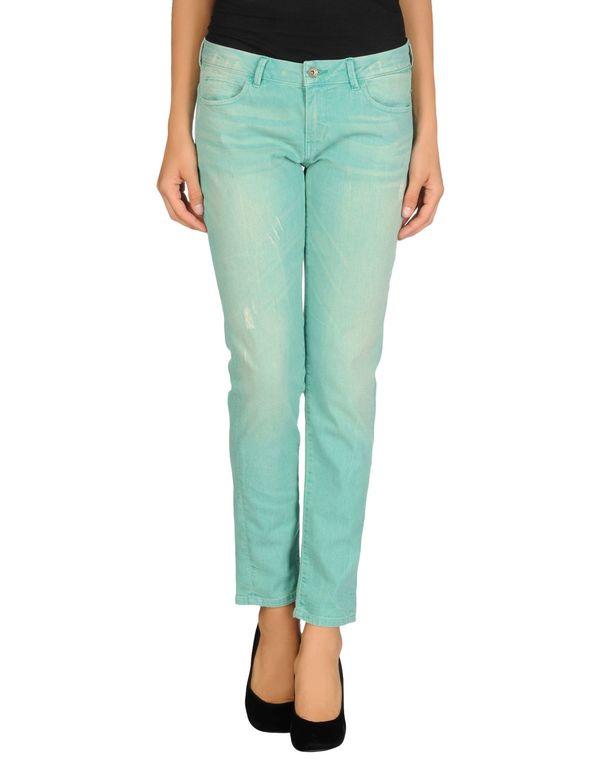 绿色 GUESS 牛仔裤