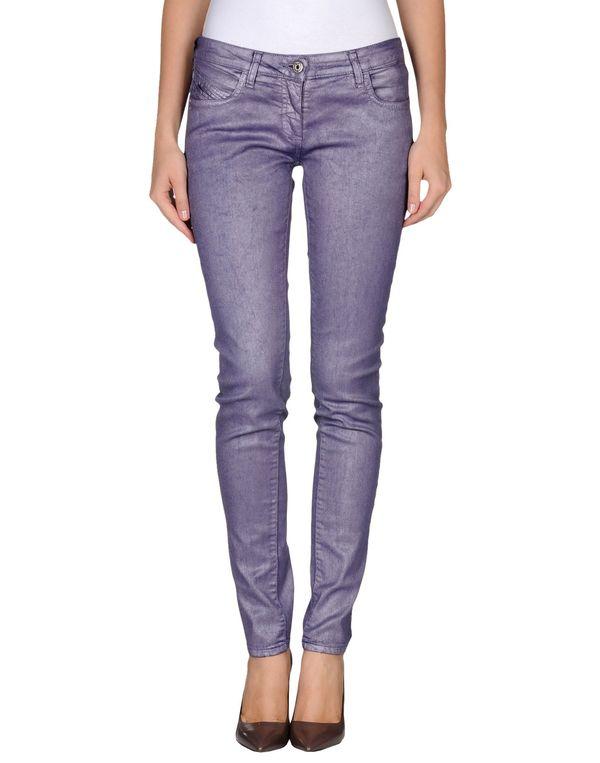 紫色 PATRIZIA PEPE 牛仔裤