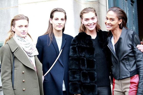 2013秋冬巴黎时装周街拍