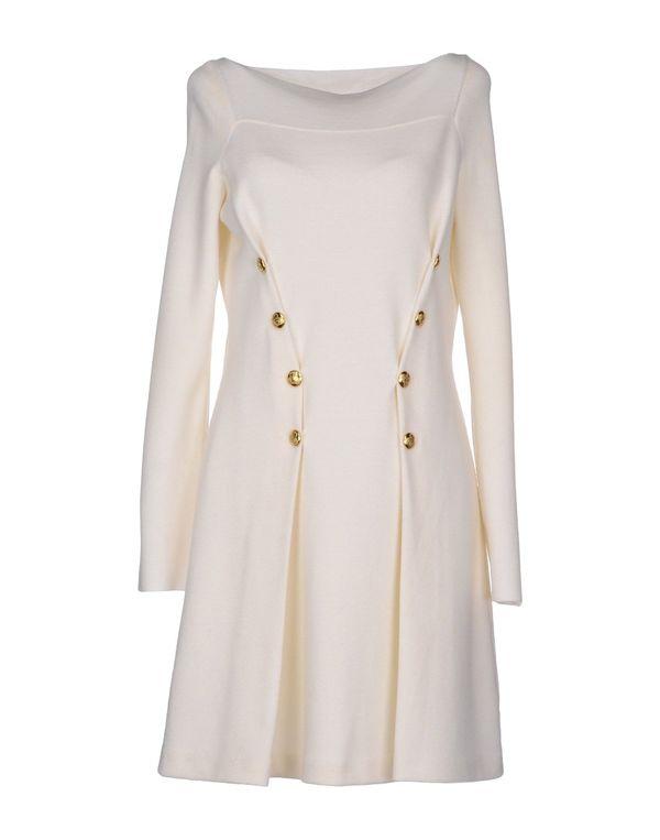 象牙白 MOSCHINO 短款连衣裙