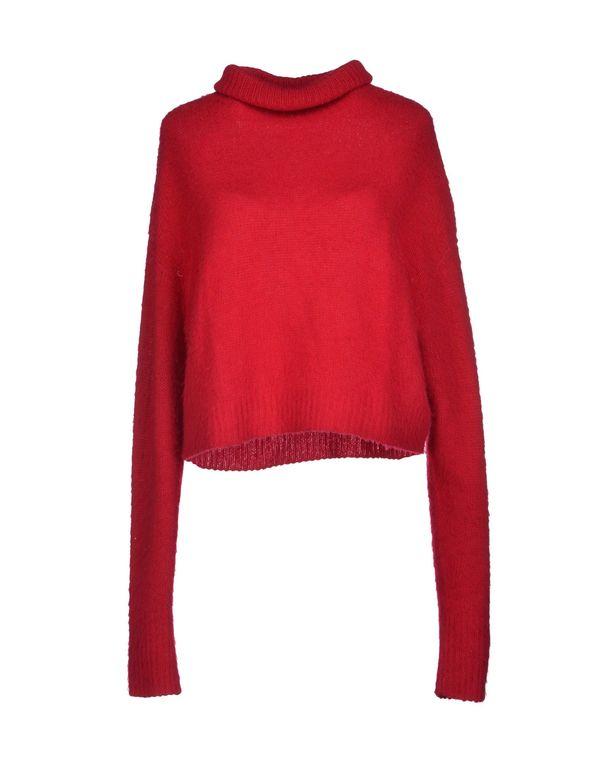 石榴红 AVIÙ 圆领针织衫