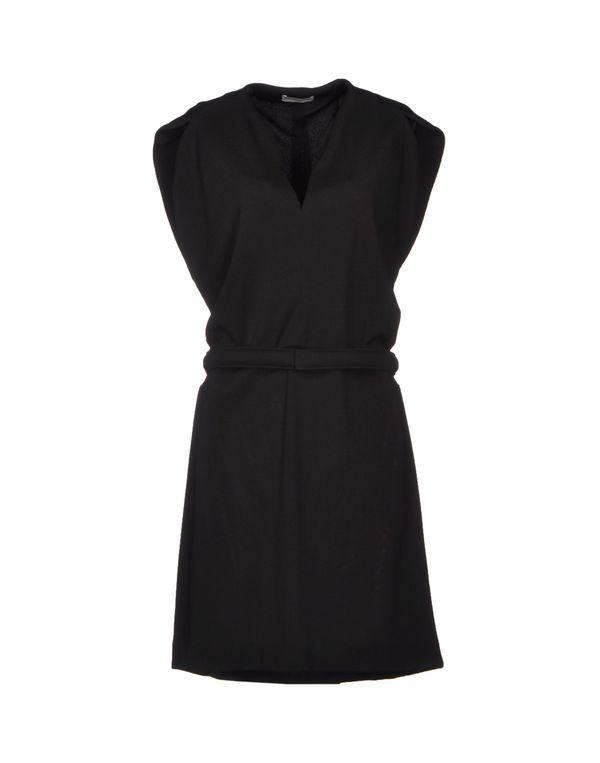 黑色 BALENCIAGA 及膝连衣裙