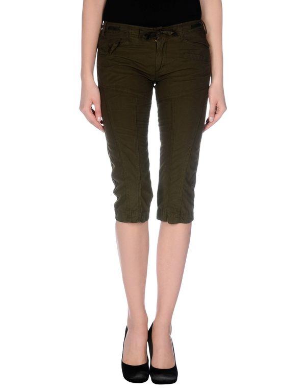 深绿色 40WEFT 七分裤