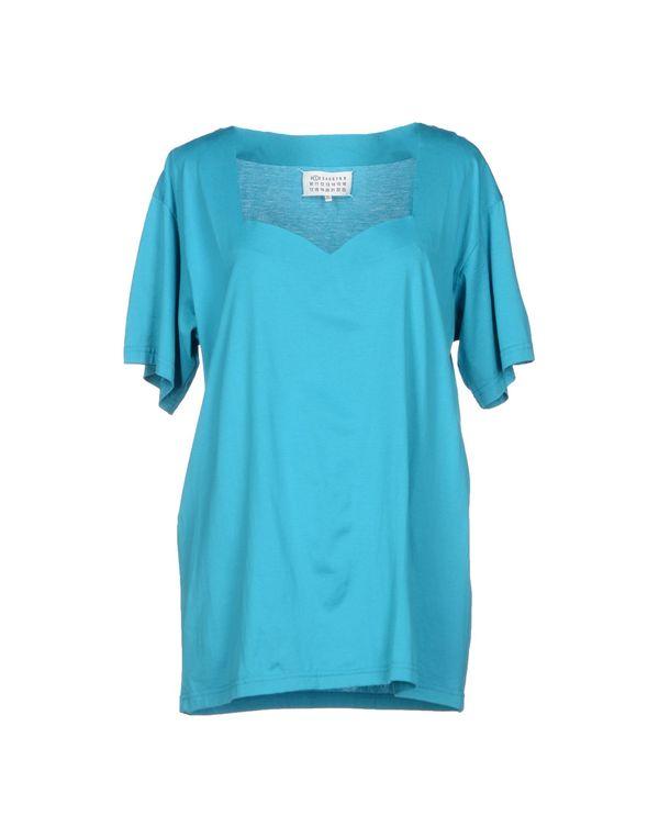 蓝绿色 MAISON MARTIN MARGIELA 1 T-shirt