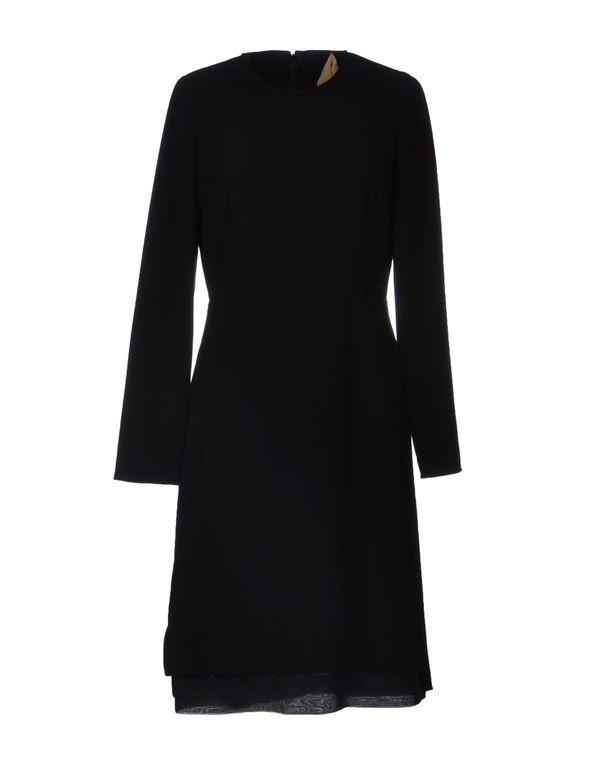 黑色 N° 21 短款连衣裙