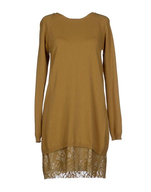 赭石色 JUCCA 短款连衣裙