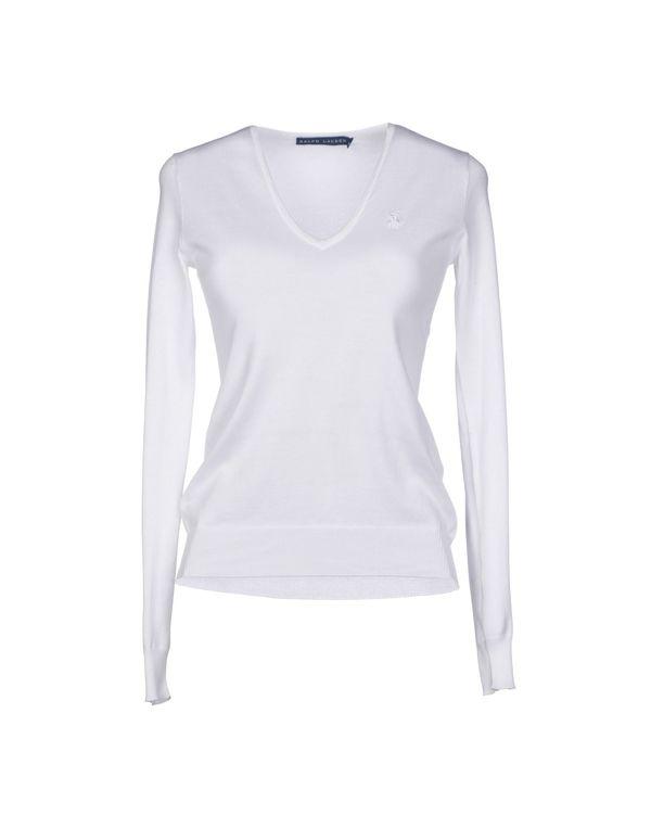 白色 RALPH LAUREN 套衫