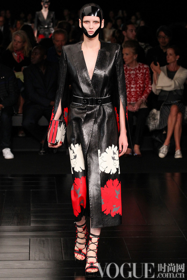 Alexander McQueen2015春夏时装秀