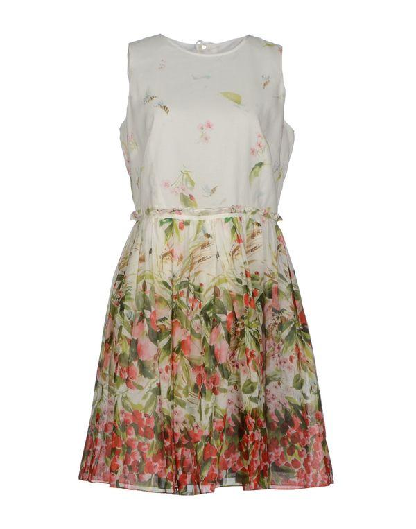 白色 REDVALENTINO 短款连衣裙