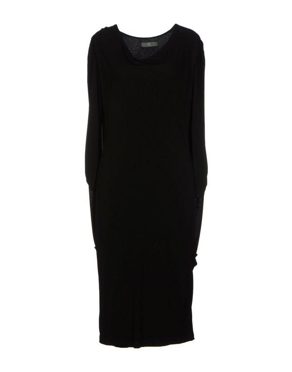 黑色 MCQ ALEXANDER MCQUEEN 及膝连衣裙